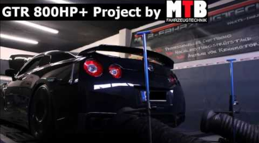 Nissan GTR 800hp Project