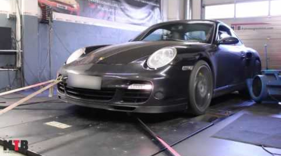 Porsche Turbo mit MTB Software Upgrade Turbos